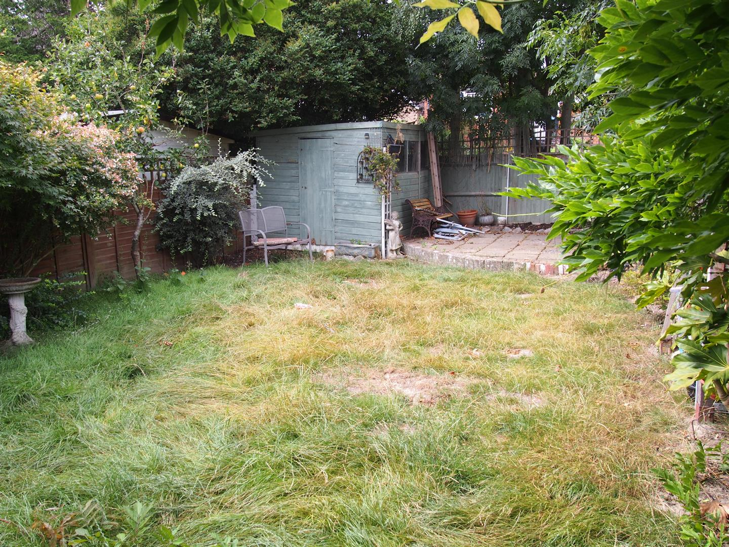 Attractive and Secluded Rear Garden